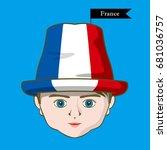 vector of  international flags... | Shutterstock .eps vector #681036757