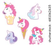 Sticker Unicorn Sticker Pin...