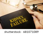 Small photo of Kidney failure or end-stage renal disease (ESRD) concept.