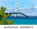 The Mackinac Bridge On A Summe...