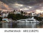 skiathos  greece   june 18 ... | Shutterstock . vector #681118291