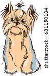 outline vector illustration of... | Shutterstock .eps vector #681150184
