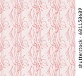 seamless wave patterns for... | Shutterstock .eps vector #681158689