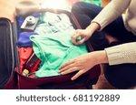 summer vacation  travel ... | Shutterstock . vector #681192889