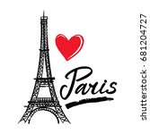 Symbol France Eiffel Tower ...