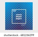 minimal poster design....   Shutterstock .eps vector #681236299