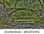 Stone Bridge By Water