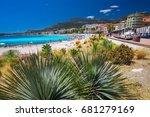 menton  france   july 2017  ... | Shutterstock . vector #681279169