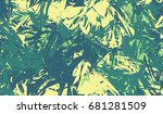 bright grunge banner. colorful... | Shutterstock .eps vector #681281509