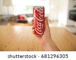 lendelede belgium june 20th... | Shutterstock . vector #681296305