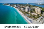 lido beach on lido key in... | Shutterstock . vector #681301384