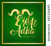 eid al adha   Shutterstock .eps vector #681326695