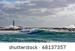 Coastal Mediterranean View Of...