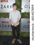 Small photo of New York, NY USA - July 20, 2017: Alex Sharp attends Netflix Ozark New York Premiere screening at Metrograph