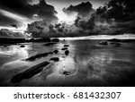 Beautiful Seascape Scenery Wit...
