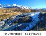 torres del paine national park   | Shutterstock . vector #681446089