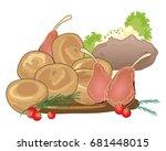 a vector illustration of a... | Shutterstock .eps vector #681448015
