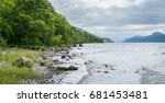 On The Shore Of Loch Ness  In...