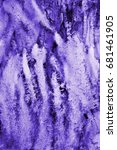 Abstract Lilac Watercolor On...