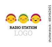 vector illustration  radio... | Shutterstock .eps vector #681462601