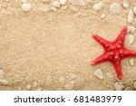 Starfish On The Coastal Sand