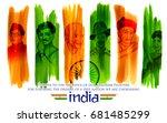 Illustration Of Tricolor India...