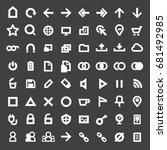 web icon. internet technology...