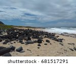 hawaiian seascape | Shutterstock . vector #681517291