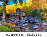 Fall Colors In The Mountains O...