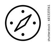 compass   Shutterstock .eps vector #681535561