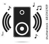 audio speakers  audio speakers...   Shutterstock .eps vector #681541909