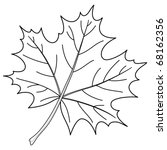 Leaf Of A Maple  Nature Symbol...