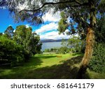Small photo of View of the Tasmanian Sea from the Royal Tasmanian Botanical Gardens.