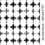 seamless pattern  abstract tie... | Shutterstock . vector #681641797