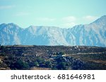 Small photo of Mountain chain in Corsica