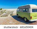 bloubergstrand   cape town ... | Shutterstock . vector #681650404