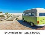 bloubergstrand   cape town ... | Shutterstock . vector #681650407
