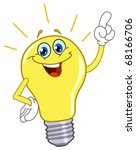 Cartoon Light Bulb
