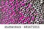 abstract background created... | Shutterstock . vector #681671011