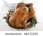 Fresh Roasted Chicken With...