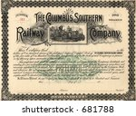photograph of a 19th century...   Shutterstock . vector #681788