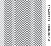 seamless gray and white pixel... | Shutterstock .eps vector #681809671