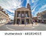 newport  isle of wight  uk.... | Shutterstock . vector #681814015