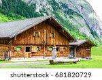 Karwendel Mountains In Austria...