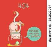 404. fanny cats | Shutterstock . vector #681823039