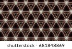 abstract background with...   Shutterstock . vector #681848869