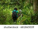 hiking | Shutterstock . vector #681865039