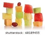 Sliced Fruit Stacks In...