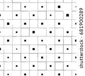 abstract grunge texture black... | Shutterstock . vector #681900289