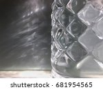 geometric view of water bottle... | Shutterstock . vector #681954565